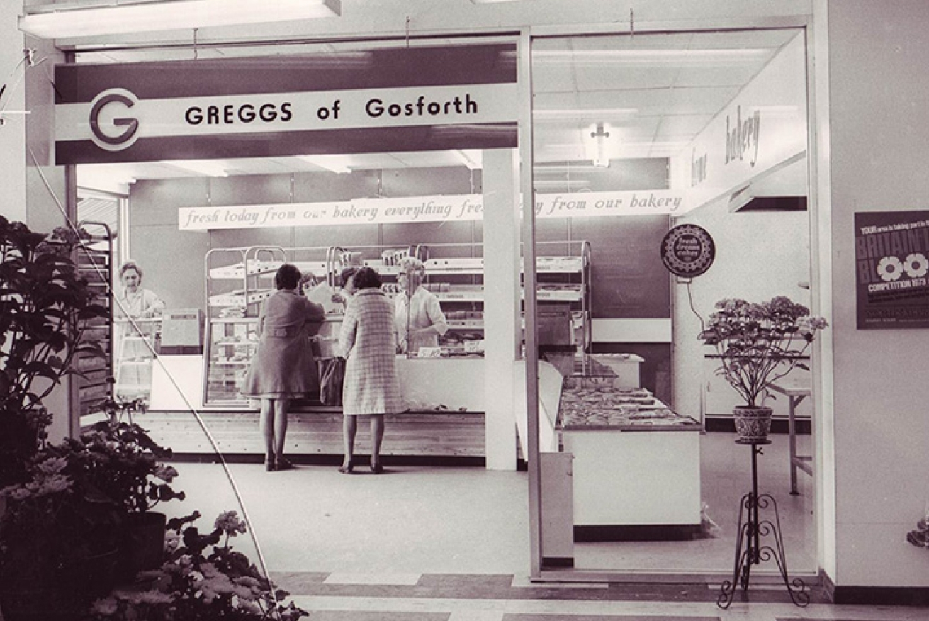 The first Greggs store in Gosforth