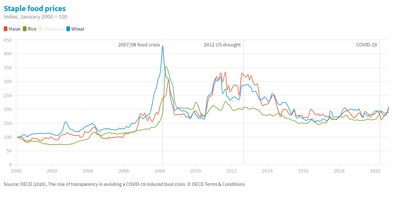 Transparency and policy co-ordination: Valuable lessons on averting a food crisis