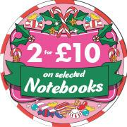 2 for £10 Notebooks