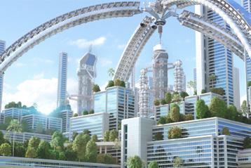 Die Städte von morgen stehen vor Herausforderungen