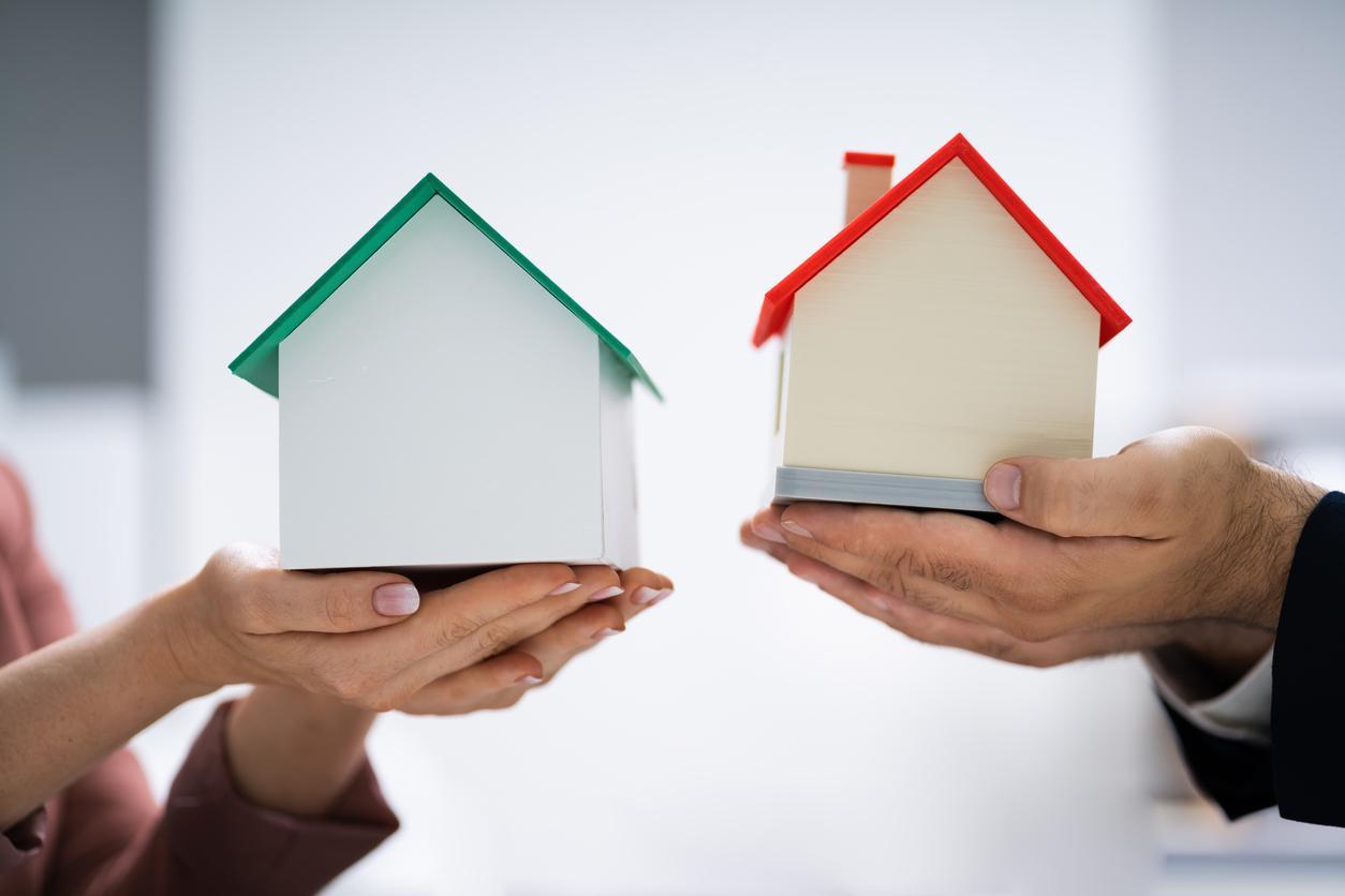 Der Wunsch nach einem Eigenheim lässt sich auch über einen Immobilientausch realisieren.