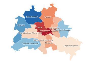 Bodenrichtwerte in Berlin im Vergleich