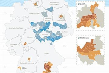 Immobilienpreisranking deutscher Landkreise