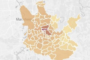 Grafik: Immobilienklima Heidelberg
