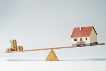 Der Hauspreis kann von einem Gutachter geschätzt werden