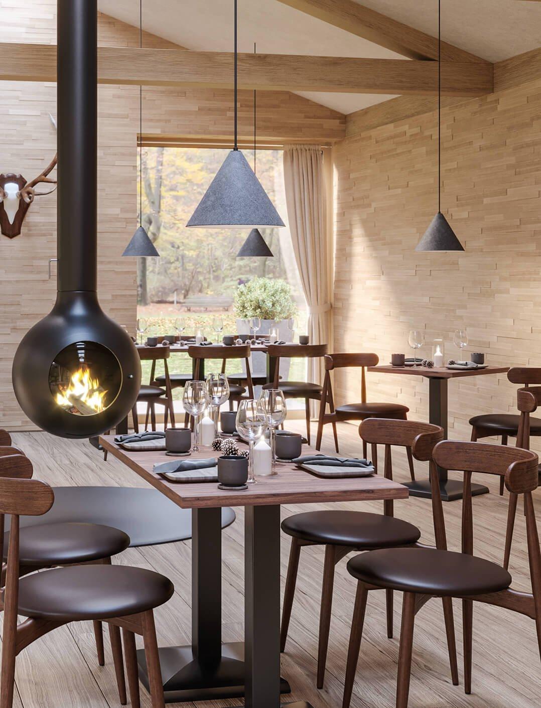 Indoor Tische für ihre Gastronomie und Hotellerie