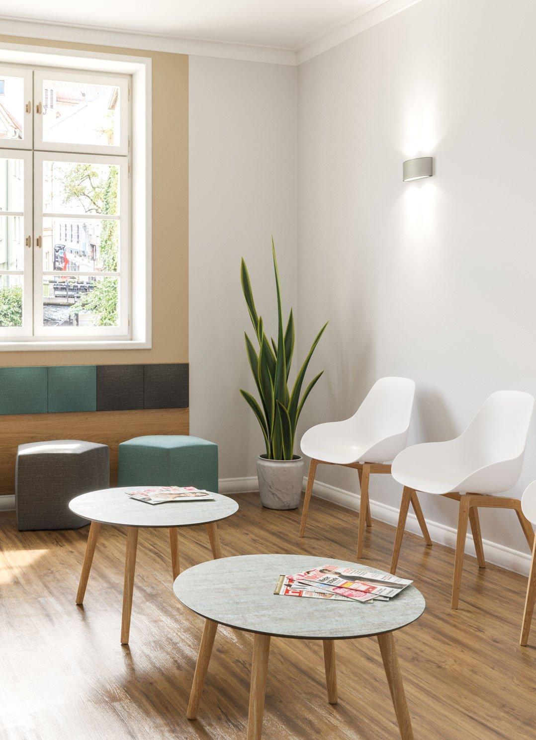 Indoor Couchtische für Ihre Gastronomie, Hotellerie und Wartezimmer