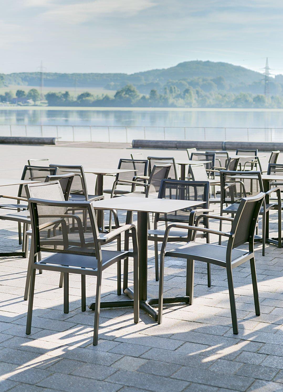 Outdoor Terrassenstühle für Ihre Gastronomie, Hotellerie und Biergarten