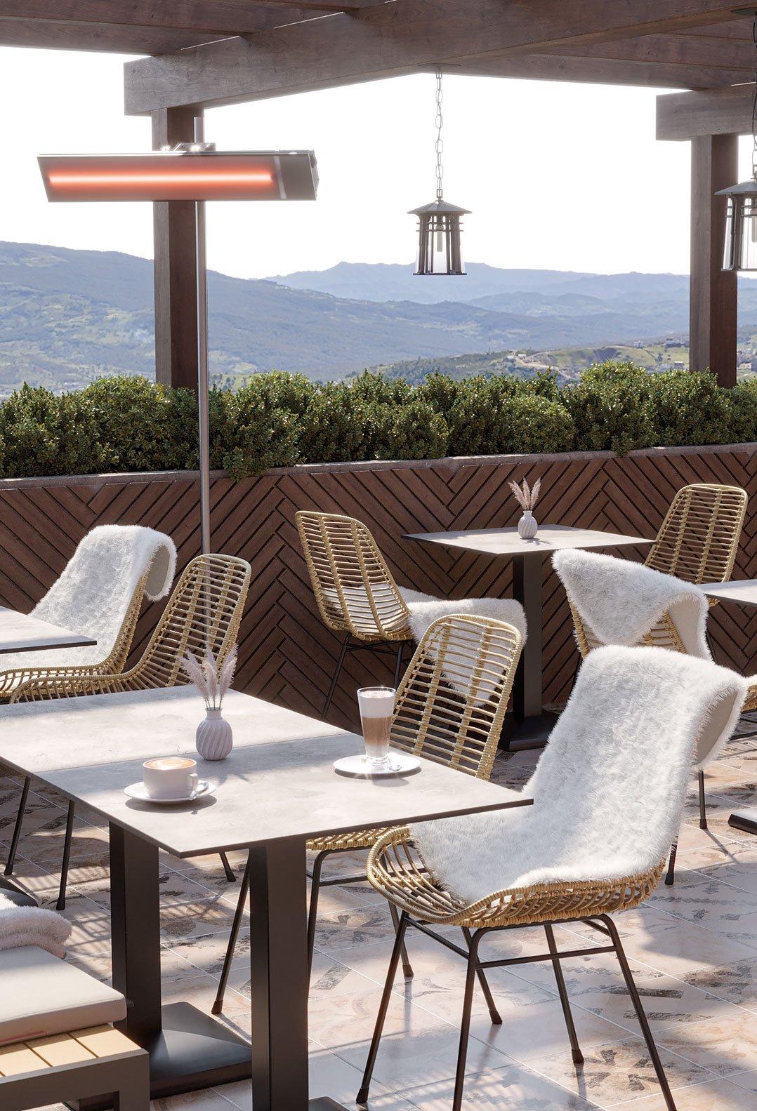 Meubles d'extérieur pour votre restaurant ou hôtel