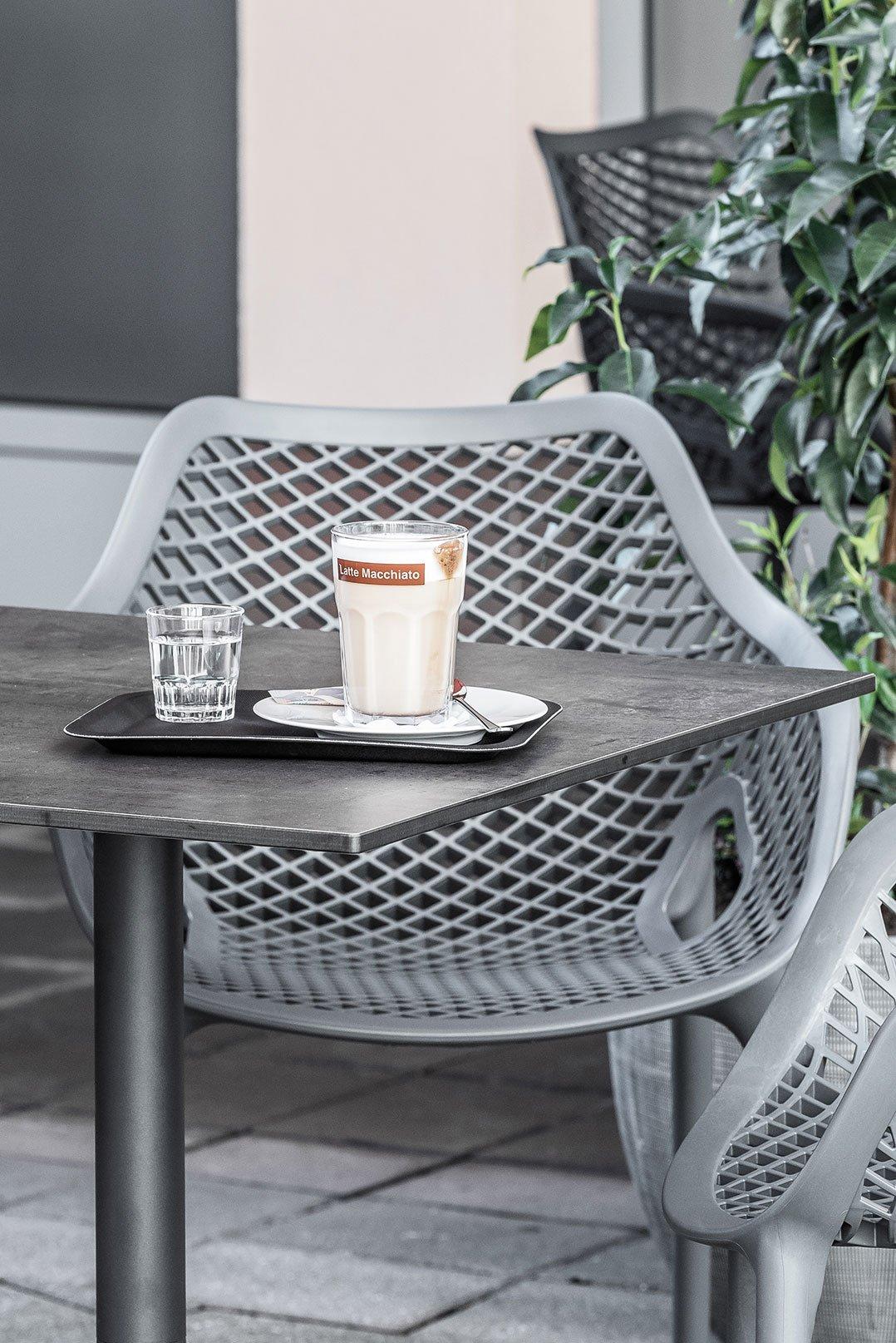 Weatherproof table tops for your restaurant, hotel or beer garden