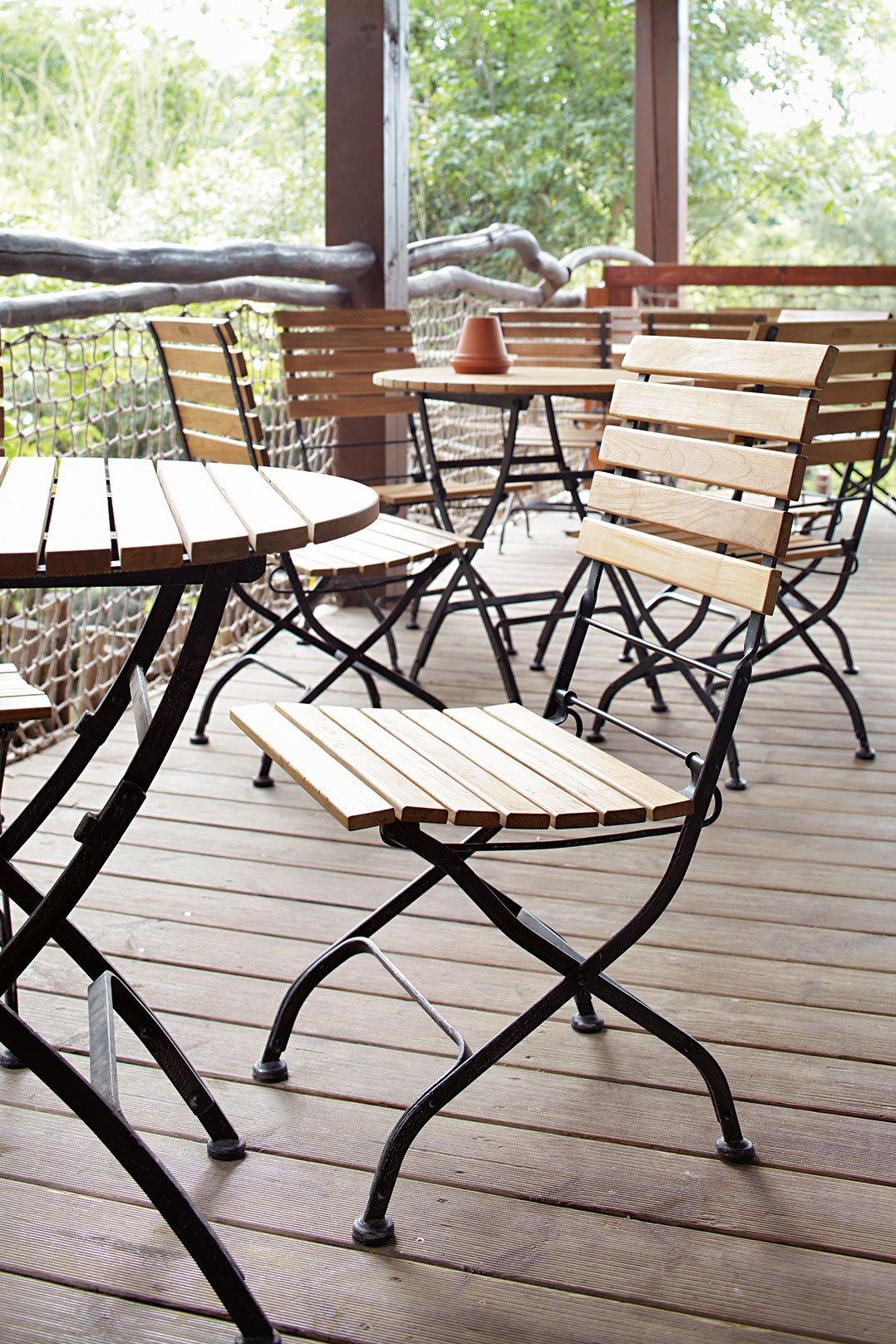 Chaises de jardin pour votre restaurant ou hôtel
