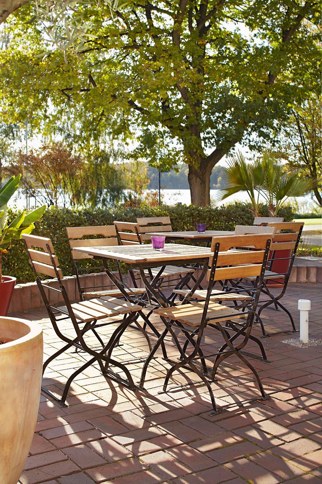Outdoor Klapptische für ihre Gastronomie, Hotellerie und Biergarten