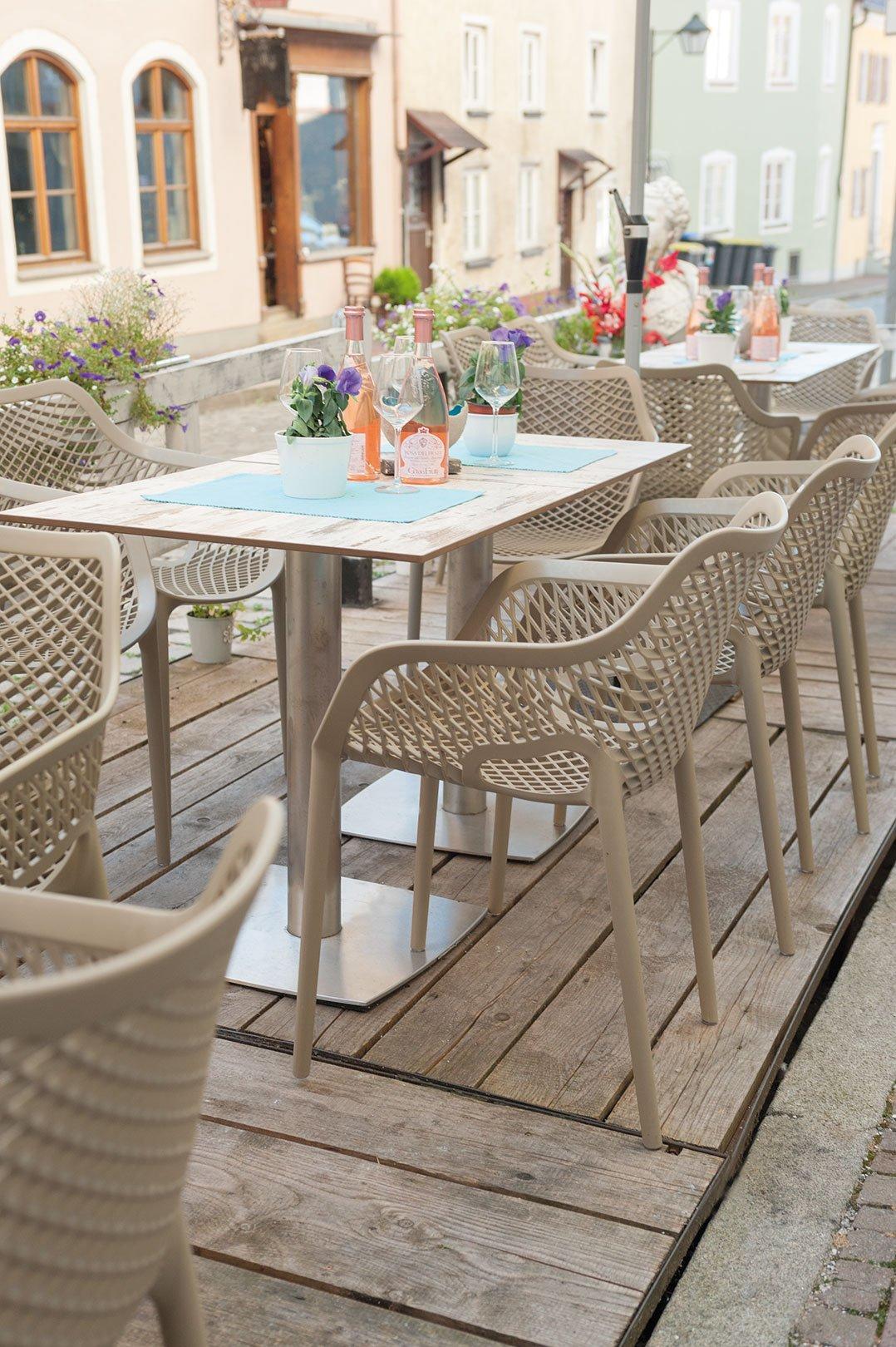 Tables d'extérieur pour votre restaurant ou hôtel