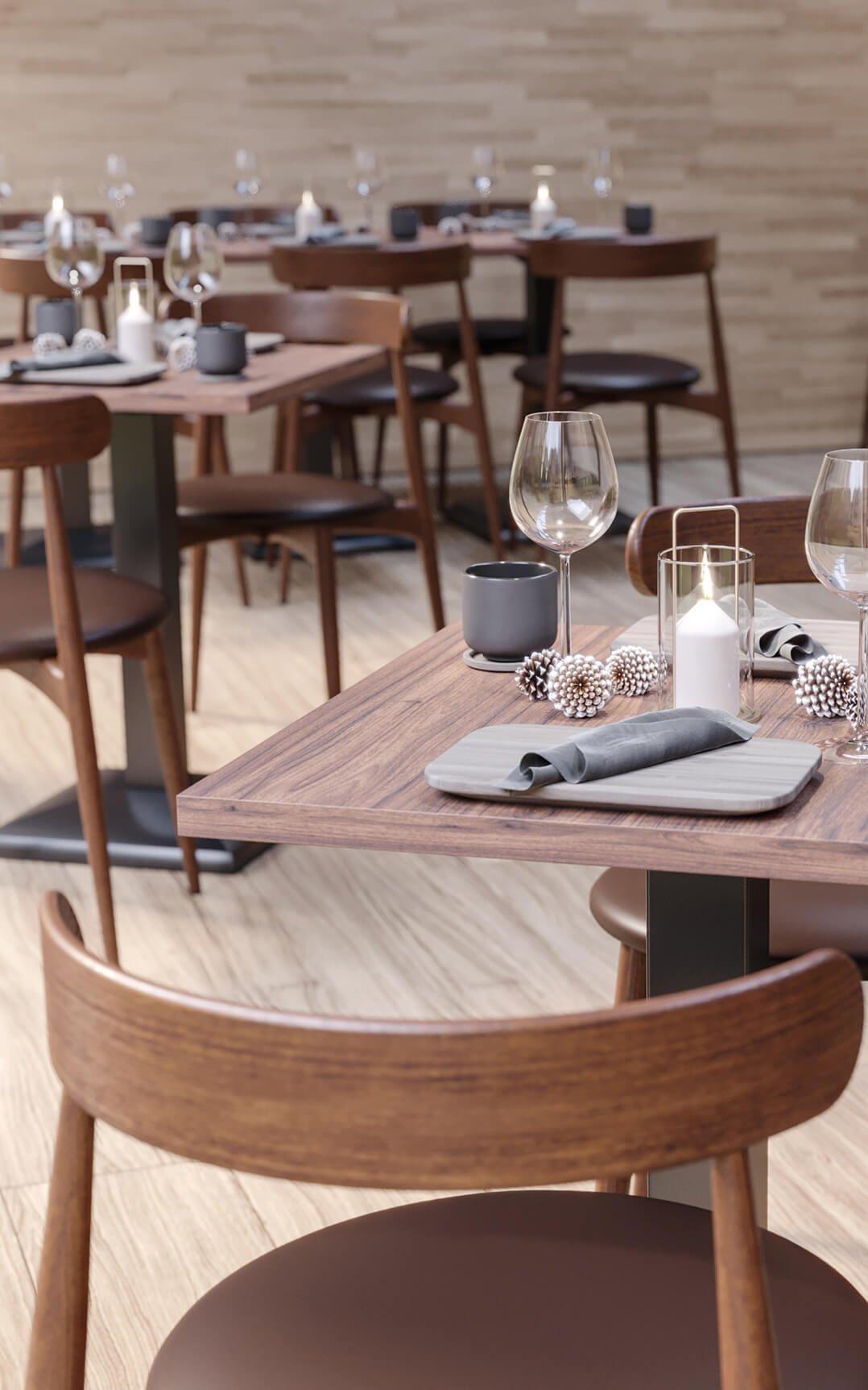 Indoor Restaurantstühle für Ihre Gastronomie und Hotellerie