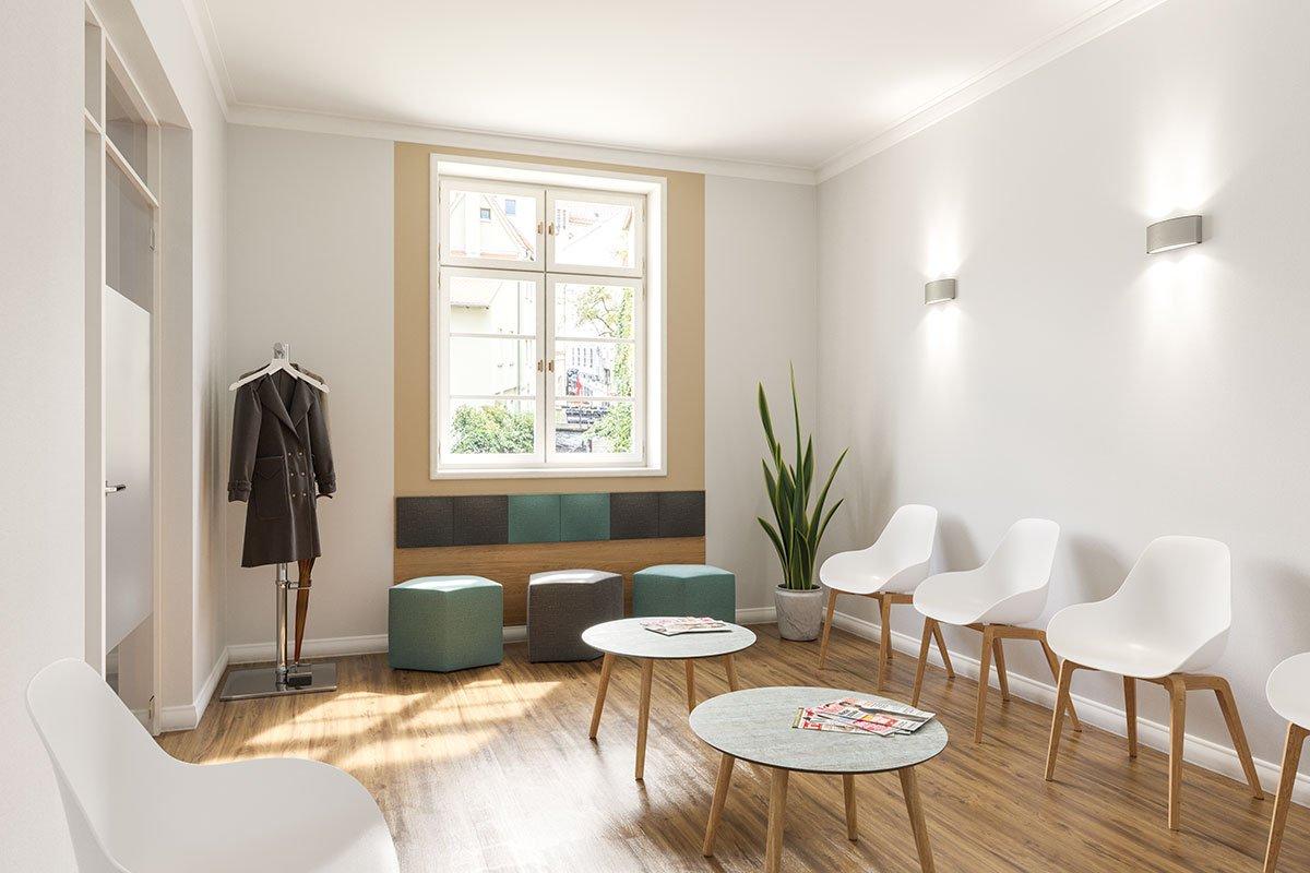 Mehr Aufenthaltsqualität dank Design und Stil: 5 Produktideen fürs moderne Wartezimmer