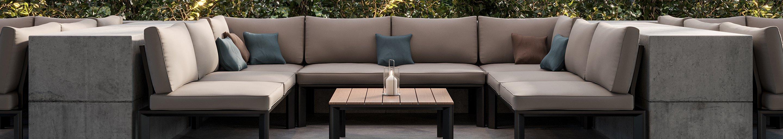 Outdoor Loungemöbel für Gastronomie und Hotellerie