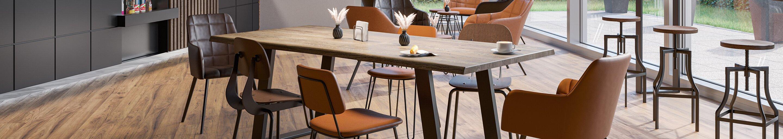 Indoor Tische für Gastronomie und Hotellerie