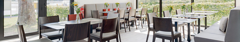 Indoor Restaurantstühle für Gastronomie oder Hotellerie