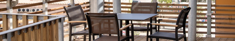 Outdoor Terrassenstühle für Gastronomie und Hotellerie