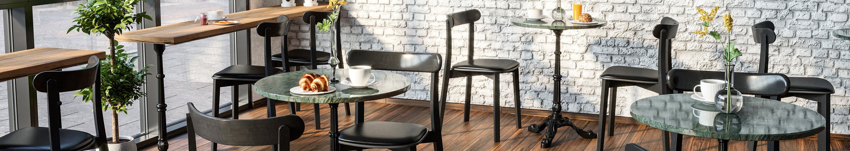 Indoor Café-Möbel für Ihre Gastronomie und Hotellerie