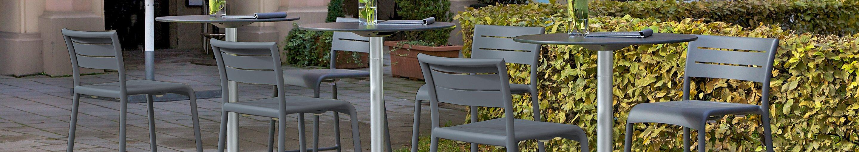 Mange-debout d'extérieur pour votre restaurant ou hôtel