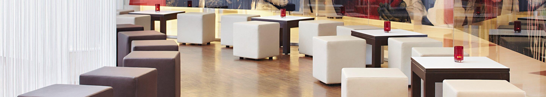 Indoor Couchtische für Gastronomie, Hotellerie, Health Care