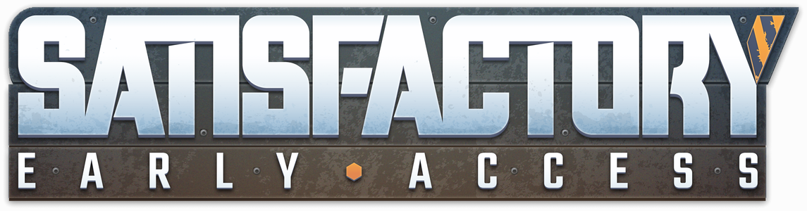 Satisfactory Early Access logo