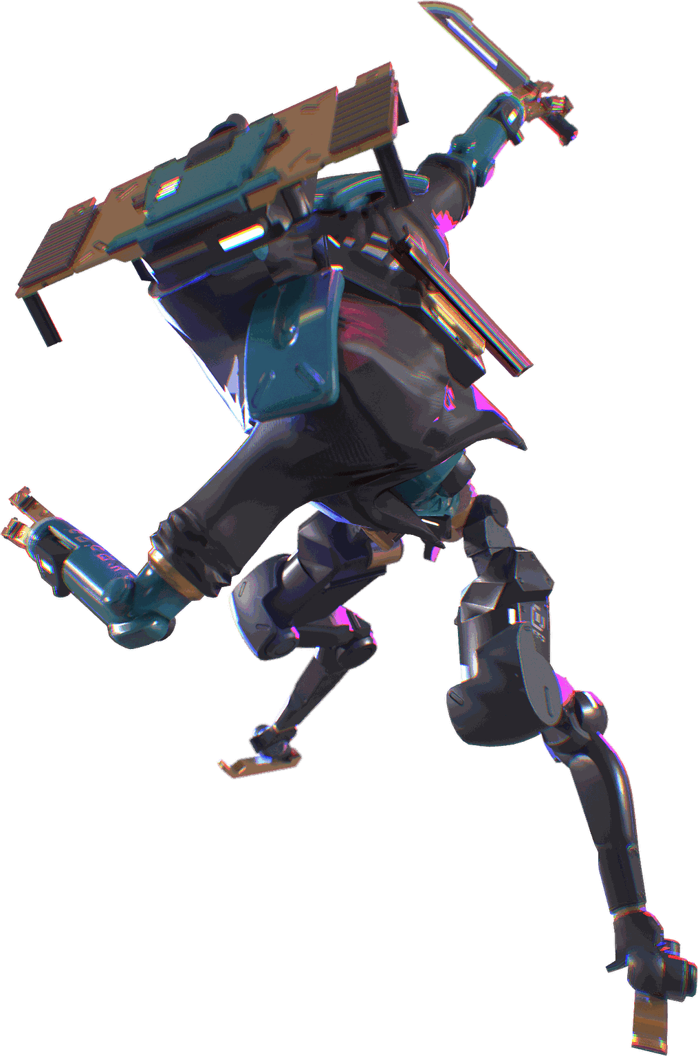 Game droid character