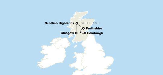 Scottish Ancestry Tour: Edinburgh, the Highlands & Glasgow