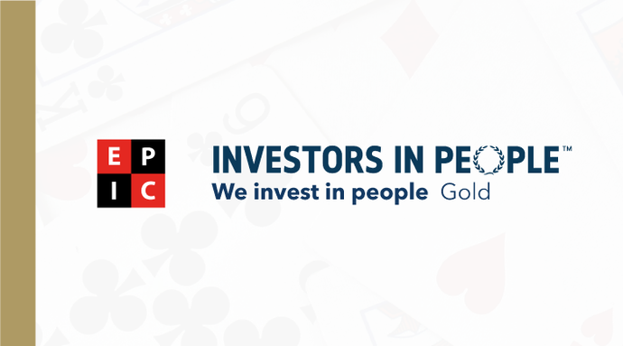 EPIC Strike Gold with Investors in People
