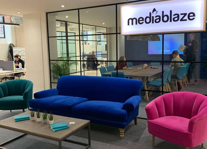 Mediablaze new office 2020