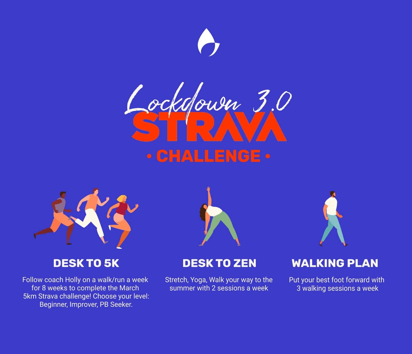A team that plays together stays together - Strava Challenge