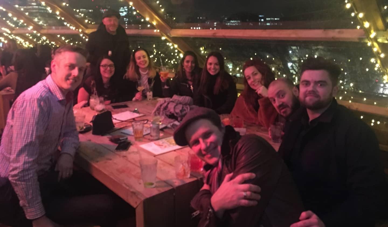 Company social at Mediablaze
