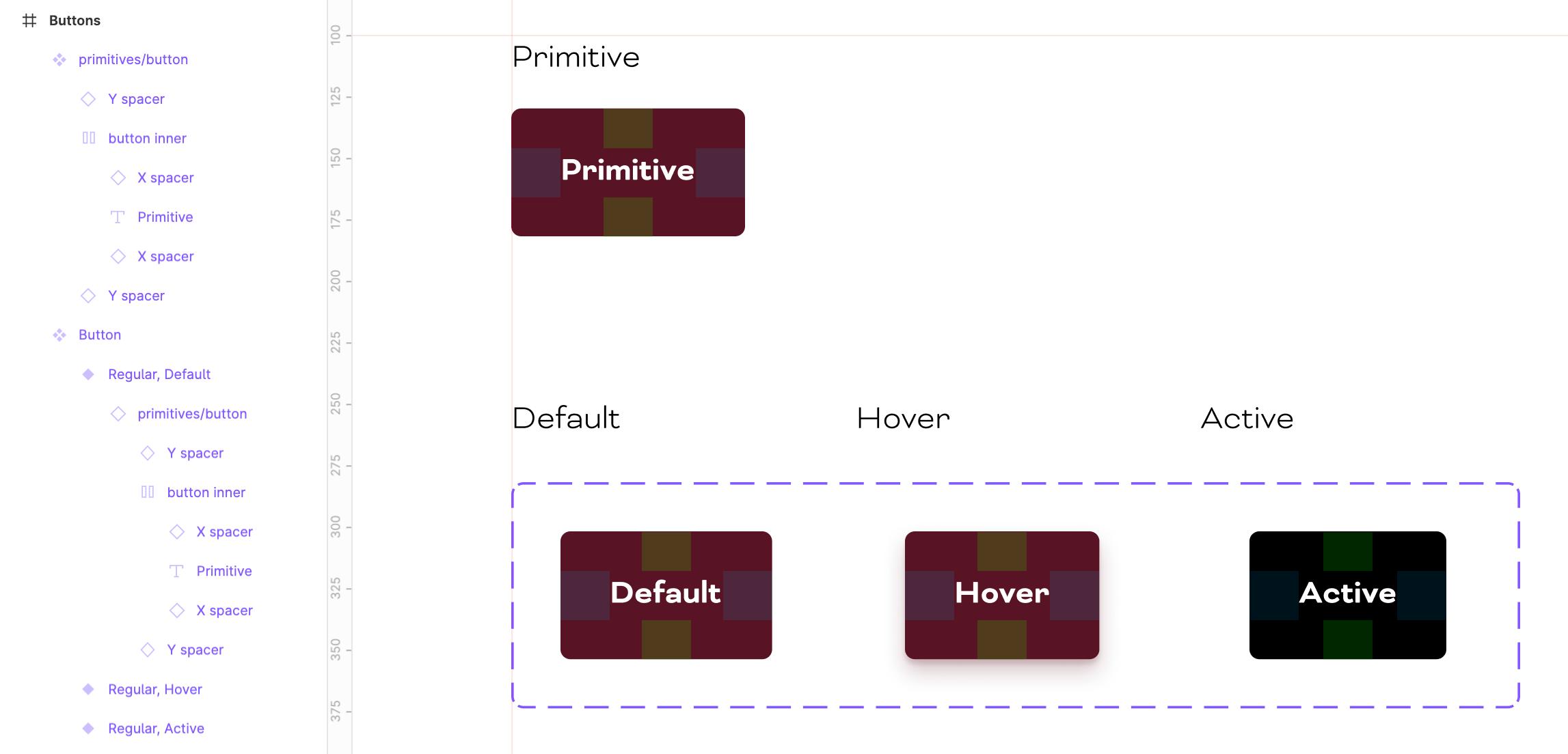 Primitive Button Component