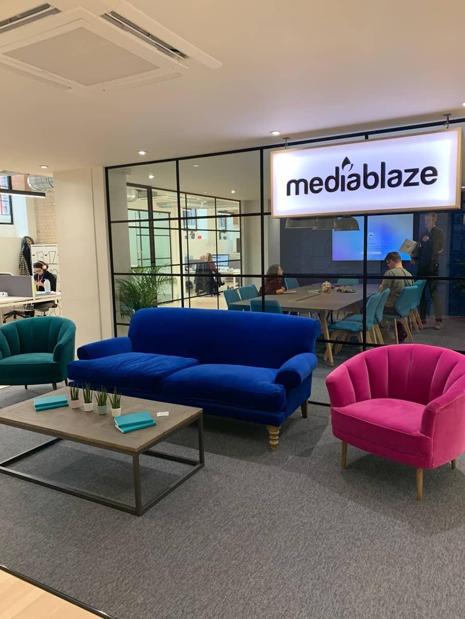 Mediablaze office