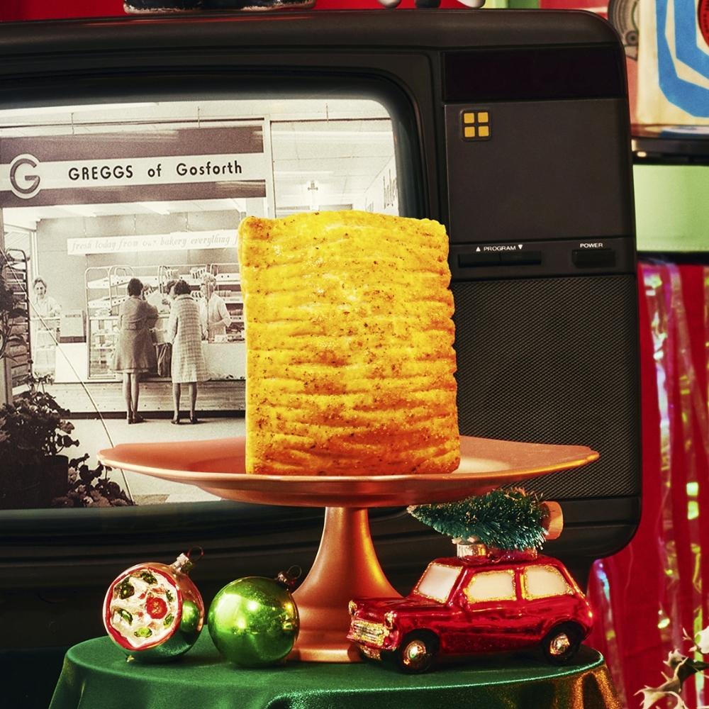 A Festive Bake on a stand