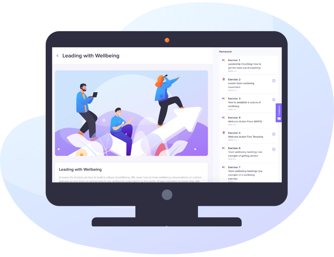 Online training via the Uprise app